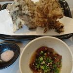 むらかみうどん - 舞茸の天ぷら