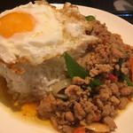 タイ料理 パヤオ - ガパオセット750円