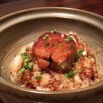 旬魚と個室 和食りん  - フォアグラ土鍋ごはん 裏メニュー