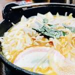 57936414 - 豚キムチ鍋‼︎マイルドな辛さで具沢山♡