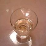 57937015 - 【夕食】食前酒(梅酒)
