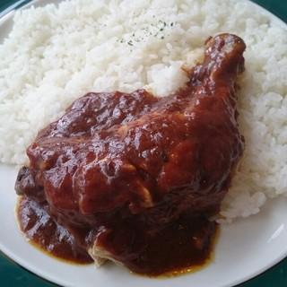 クロック - 料理写真:骨付きチキンカレー
