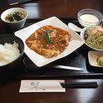 57938406 - ランチ、麻婆豆腐