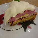 モモカフェ - ハスカップチーズタルト