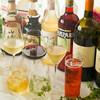 オステリア パージナ - ドリンク写真:パーティーにフリードリンクを!