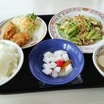 餃子の王将 - 2016.10 下旬 肉とキャベツの味味噌炒めセット823円