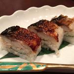 麺酒房 文楽 - 焼き鯖寿しUP