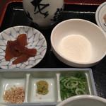 麺酒房 文楽 - 奈良で出石そば食べれるとは⤴︎❤︎