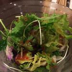 ヴェスプチ - 料理写真:グリーンサラダ