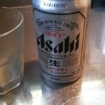 57941823 - ラーメン大 缶ビール