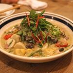 イロドリ - 和牛肩バラ肉のココナッツ煮込み グリーンカレーソース