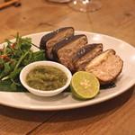 イロドリ - ジャンボ椎茸の肉詰め