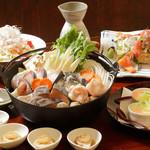 魚菜おもてなし 北河 - 3500円よせ鍋 コース(11月~1月)