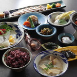 琉球料理 ぬちがふぅ - 5千円コース。