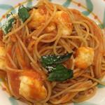 トラットリア ペペ - モッツァレラチーズとトマトソースのスパゲッティ☆