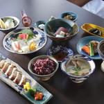 琉球料理 ぬちがふぅ - 7千円コース。
