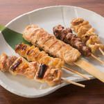 いろはにほへと - 料理写真:串五種盛り合せ