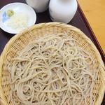 為楽庵 - 料理写真:ざる蕎麦