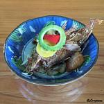 千陽 - 恵比須浜で揚がった地の魚の唐揚げ