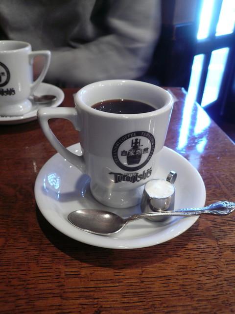 てらにし珈琲本店 - ホットコーヒー