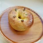 庭のパン屋さん - 「パンプキン」180円