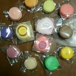 セゾンふうげつ - カラフルで可愛いカップケーキとマカロン