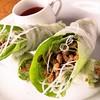 焼肉居酒屋かちかち山 - 料理写真:納豆のライスペッパー巻き