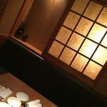 日暮里食肉問屋 おもに亭 - 店内雰囲気   半個室