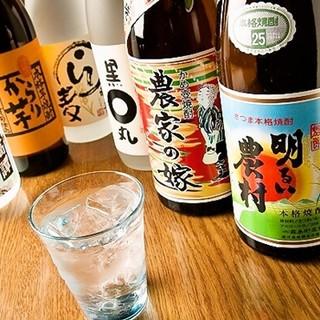 豊富な日本酒・焼酎♪