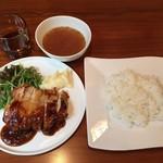 丸鶏FUJI - ジャンクチキンステーキ850円(税込)