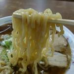 あべ食堂 - 中華そば 麺リフト