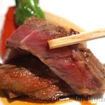 日本料理 徳 - 石垣牛のステーキ