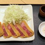 日本料理 徳 - 石垣牛の牛カツ