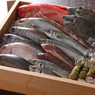 伊豆のおいしい【魚】を最もおいしい状態でご提供