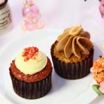 タブレス - デミタスカップケーキ ライチラズベリー/ミルクチョコアールグレイ