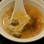 リトル成都 - 【ランチ】セットのスープ