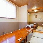 東京遊膳 ひのき亭 - お座敷は最大20名様までご利用可能