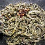 金蠍 - 汁なし黒胡麻坦々麺(まぜまぜ)