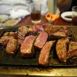 龍園 - ランプ肉ステーキ