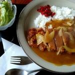 升金食堂 - これがなかなか美味しかったカツカレー。