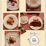 ペンション蛍 - 料理写真:夕食のコース料理