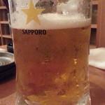 ウラニワ - 生ビールはエビス大690円がサービス!