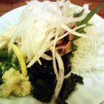 浜海道 - 料理写真:戻りかつおたたき