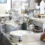 宝龍 - いつお客様がいらしても良いよう、厨房は常に準備万端です!