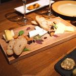 ル・モンサンミシェル - チーズ盛り合わせ