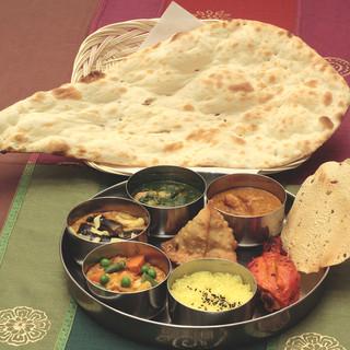 インド料理を食べて健康に