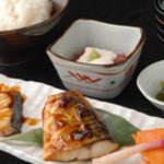 焼き魚三点盛り定食