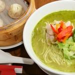 京鼎樓バル - 11月マンスリー:さらに美味しくなった新バジル麺が再登場