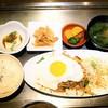 よしもと - 料理写真:豚キムチ定食 ¥750