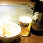 よしもと - 瓶ビール スーパードライ ¥550